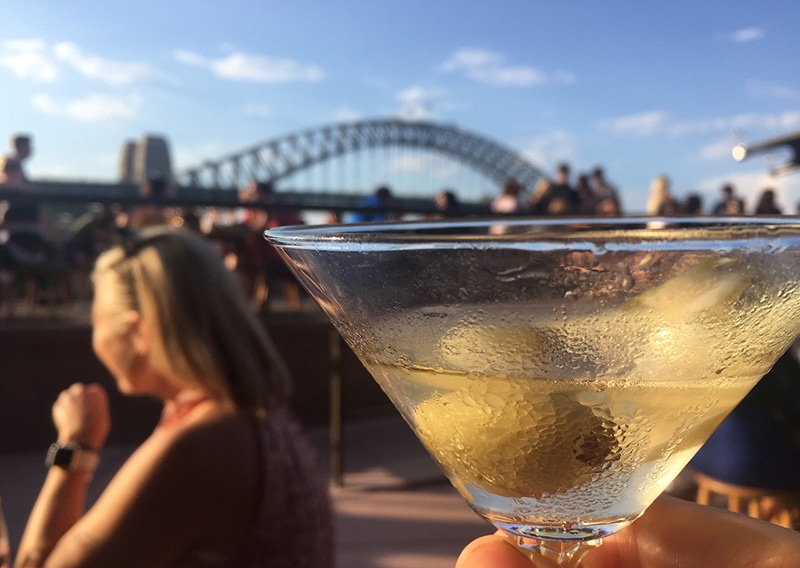 Bebidas em locais públicos na Austrália
