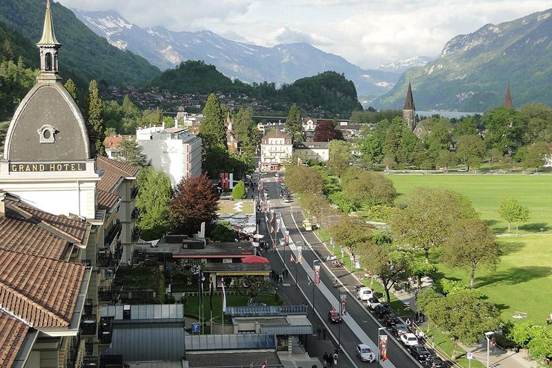 Alpes suíçoscidades