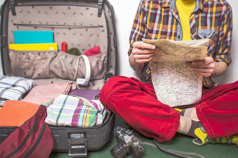 Viajar mais com menos
