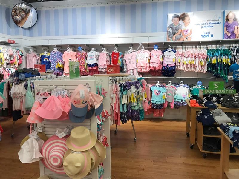 Compras para bebê em NY