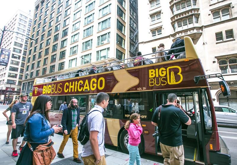 Ônibus Hop-on Hop-Offde Chicago