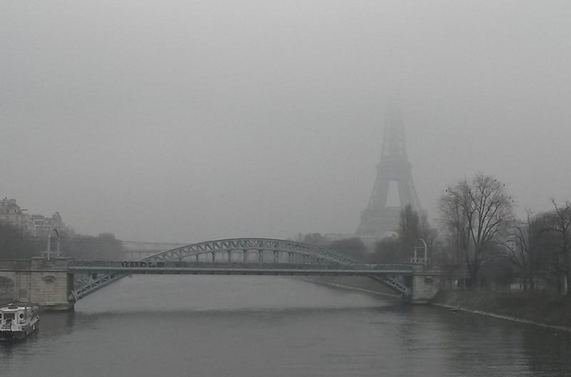 temperatura de Paris em fevereiro