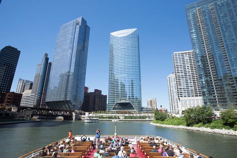 Valor gasto em uma viagem para Chicago