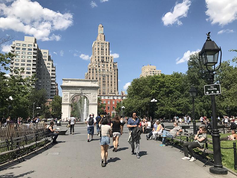 Onde andar de bicicleta em NY