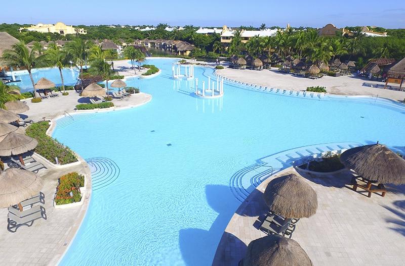 Resort bem avaliado na Riviera Mexicana