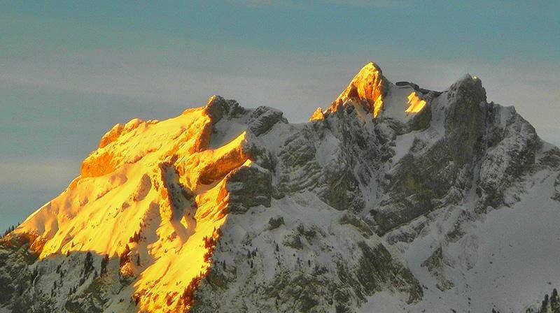 Montanhas da Suíça