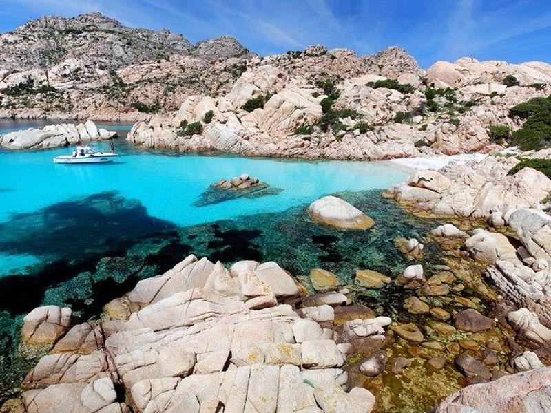 Passeios no verão na Sardenha