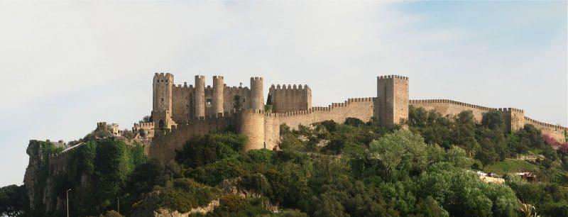 Maravilhas de Portugal Castelo Óbidos