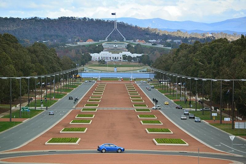 Camberra capital Australia