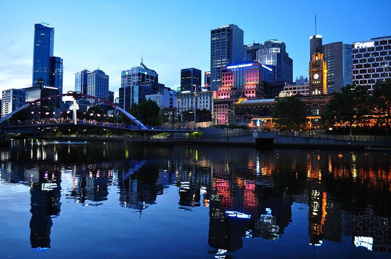 Principais cidades da Austrália
