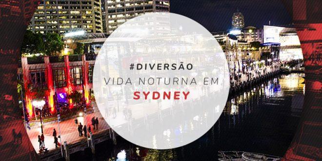 Baladas e vida noturna em Sydney