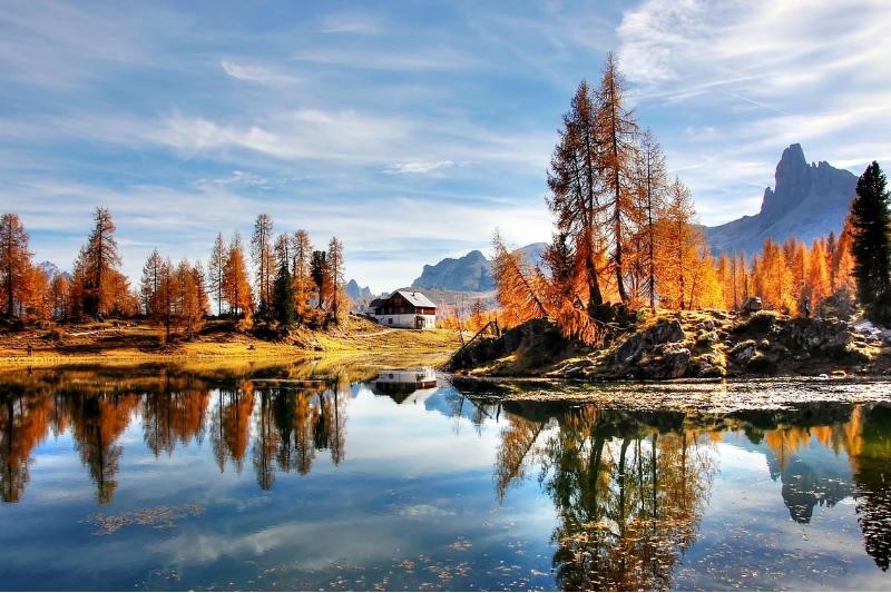 Outono na Itália
