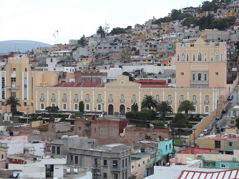 Região de Pachuca no México