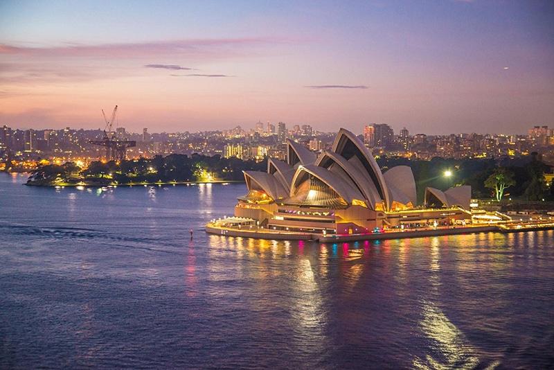 Pontos turísticos Austrália Sydney