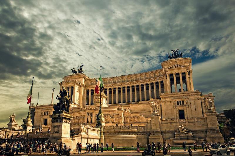 Clima em Roma, Itália