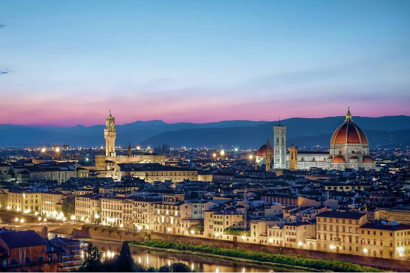 Temperatura em Florença, Itália