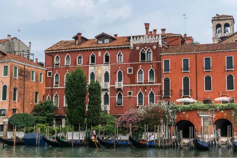 Temperatura de Veneza na Itália