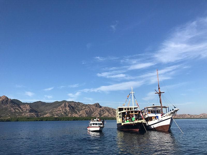 Viagem de mergulho na Indonésia