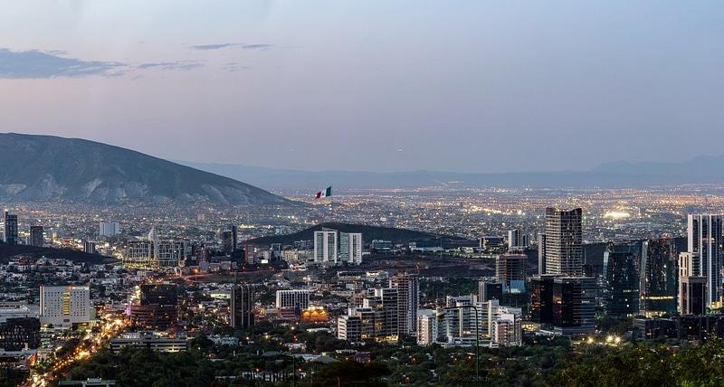 Lugares próximos de Monterrey