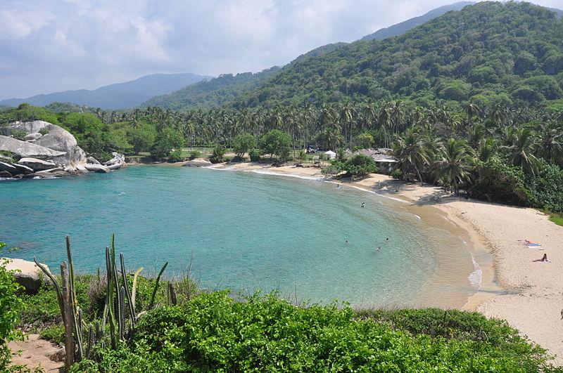 Principal pontos turístico de Santa Marta