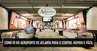 Transporte público no aeroporto de Atlanta