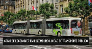 Como se locomover em Luxemburgo