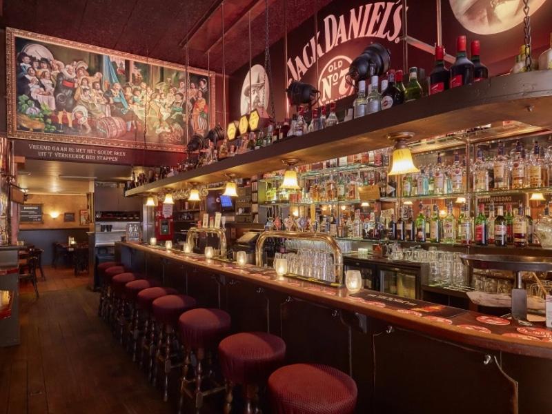 Pub bem recomendado em Amsterdam
