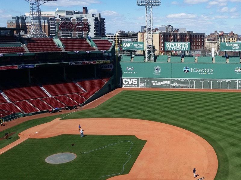 Estádios famosos em Boston