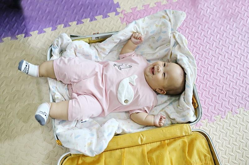 Mala de mão para viajar com bebês no avião