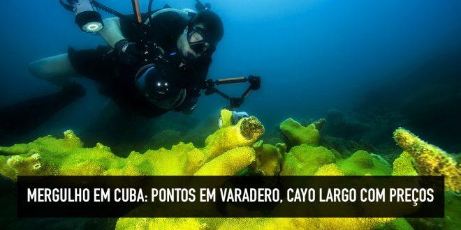 Preço do mergulho de batismo em Cuba
