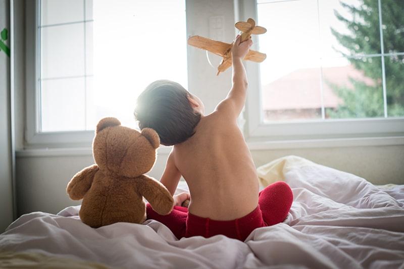 Criança de dois anos não paga passagem
