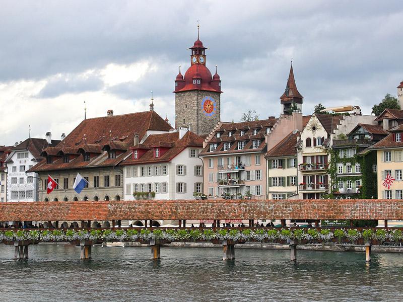 Cenários de filme na Suíça