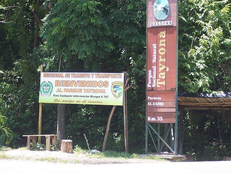 Parque Nacional Natural Tayrona preço