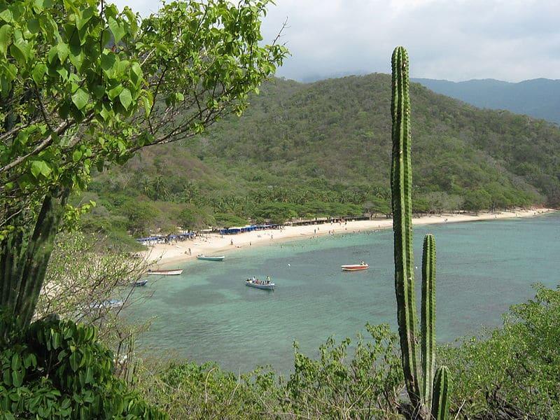 Playa Cristal Parque Tayrona