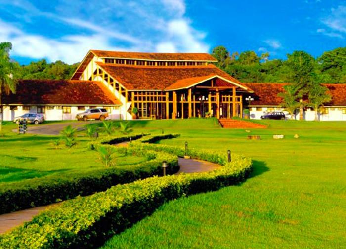 Resort premiado em Bonito