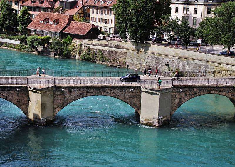 Quando é verão na Suíça