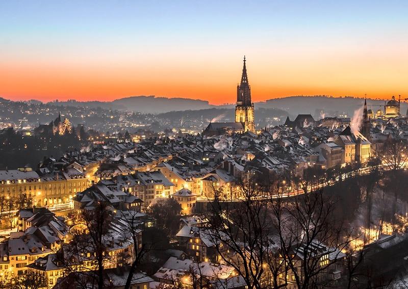 Quando começa o inverno na Suíça