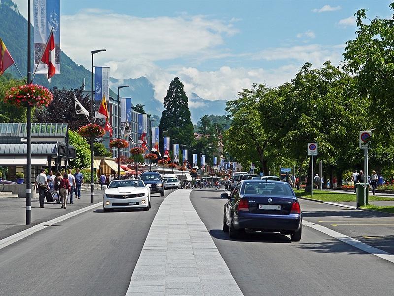 Como chegar em Berna de Genebra usando carro