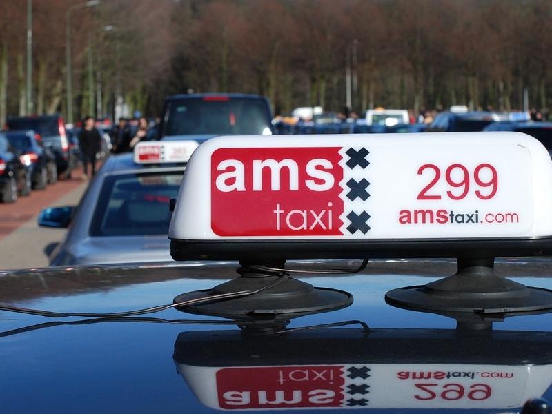 Tarifa de táxi em Amsterdam