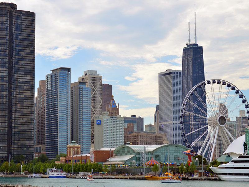Cidades famosas nos Estados Unidos