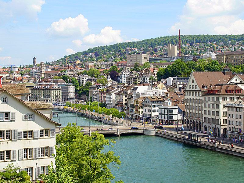 Roteiro turístico Zurique