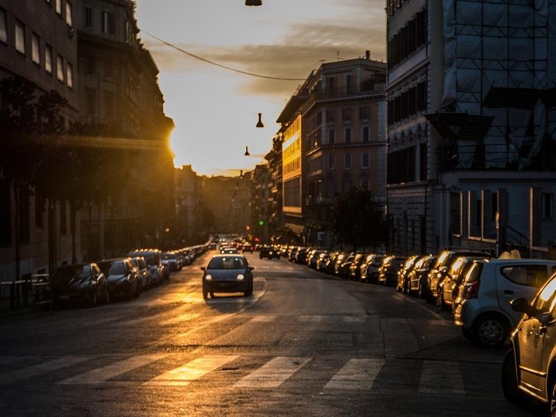 Leis de trânsito da itália