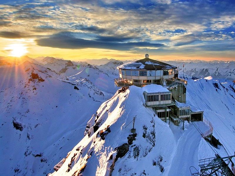 Quando neva na Suíça