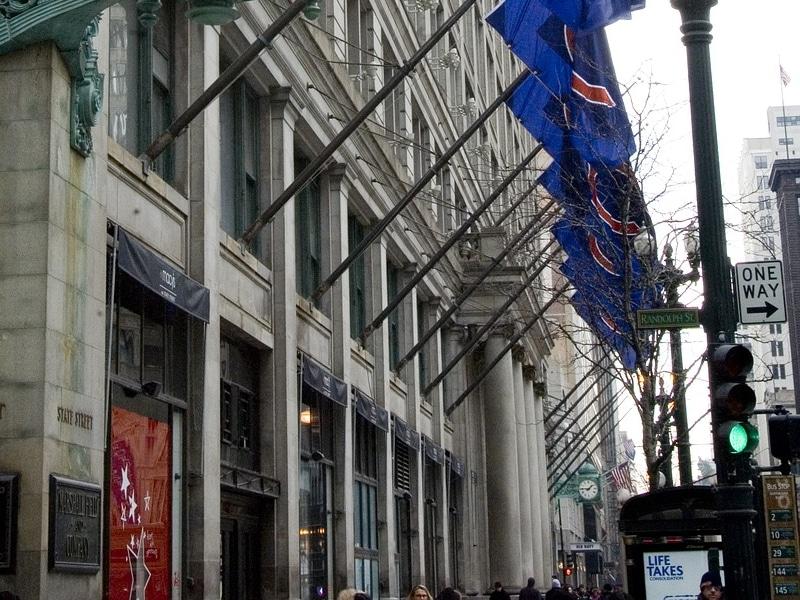 Compras em Chicago nos Estados Unidos