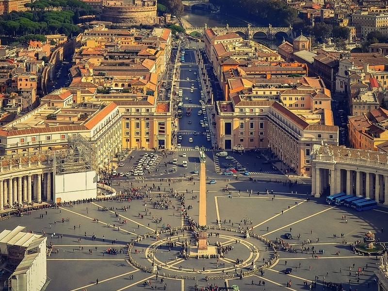 Roteiro católico na Itália