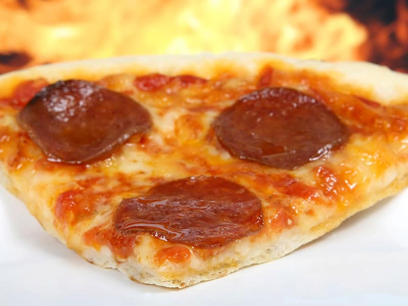 restaurantes em quebec: pizza.