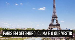 clima de paris em setembro