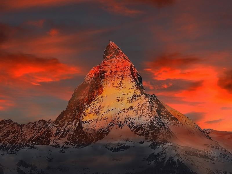 Fotos da Suíça no inverno