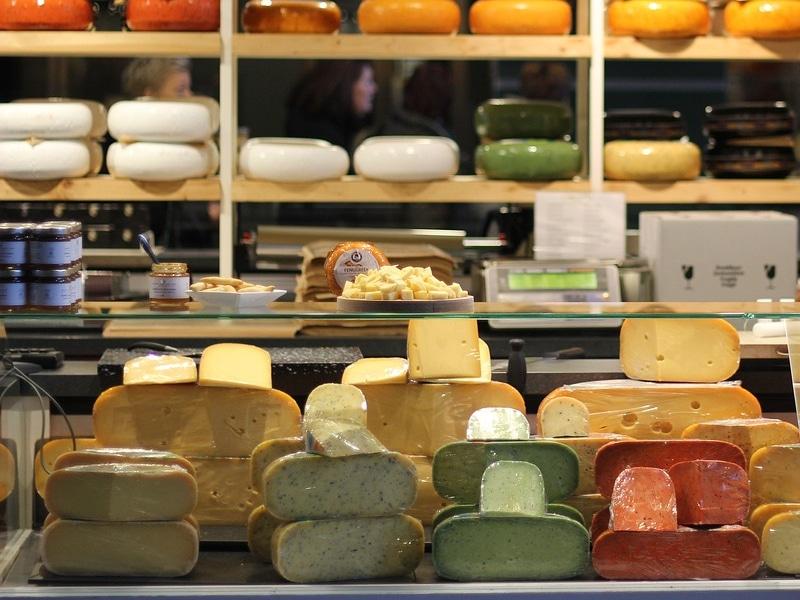 Melhores queijos da Holanda