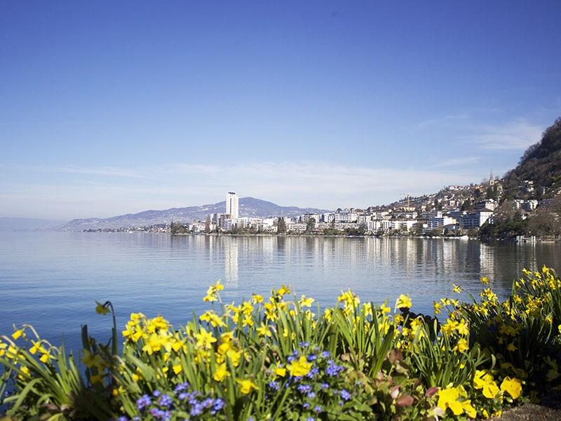 roteiro na Riviera Suíça.